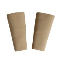 Accordion Strap Buckle Protection Sleeves Elasticated Tan/Black